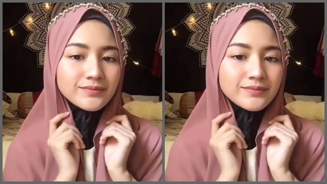 d5eafb0a2 لفات حجاب 2019 للمدرسة سهلة وأنيقة Simple Easy Hijab Tutorial ...