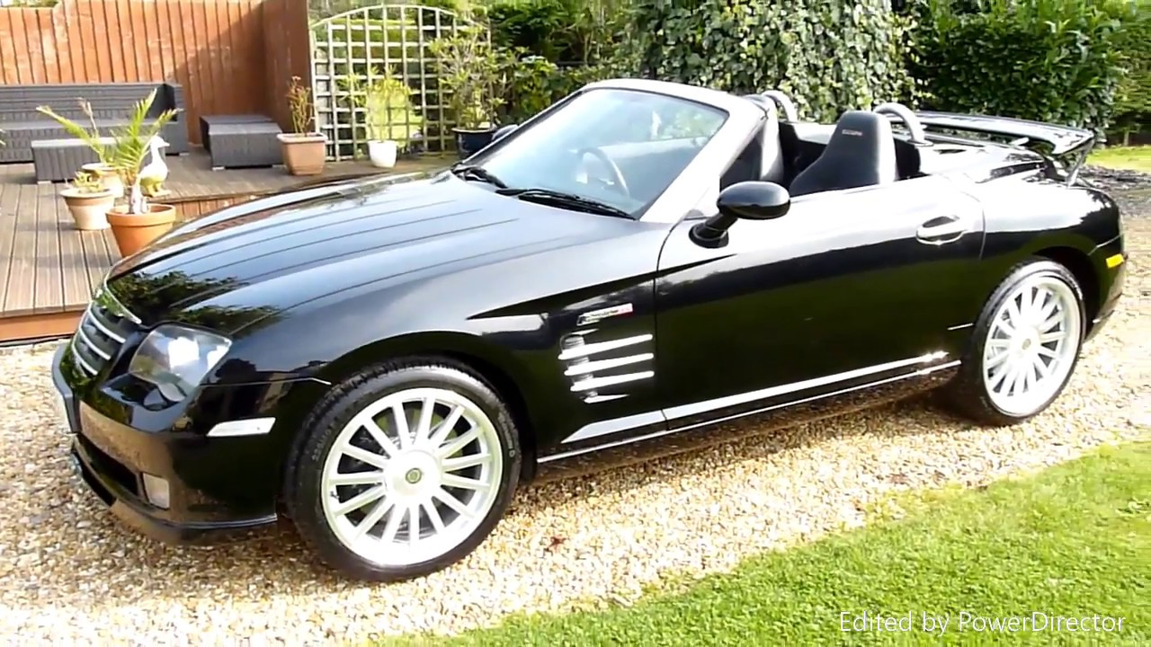 2006 chrysler crossfire srt6. video review of 2006 chrysler crossfire srt 6 convertible for sale sdsc specialist cars cambridge uk srt6