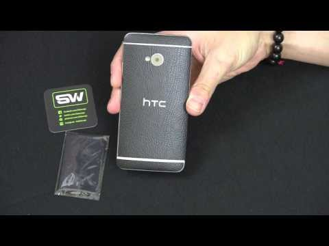 Slickwraps HTC One Black Leather Series Review