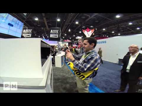 PM Screen - Highlights of Altec Lansing 3D Hologram Projection, CES International 2015