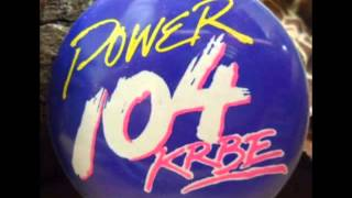 Power 104 KRBE Houston - Aircheck (1990)