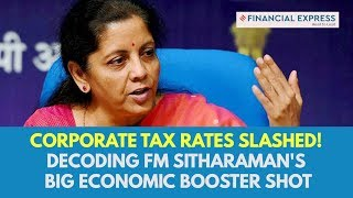 Corporate tax rate cut decoded! Why FM Sitharaman's announcement is a Diwali bonanza for economy