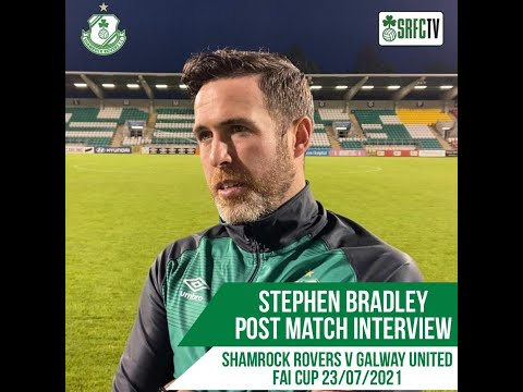 Stephen Bradley | Post Match Interview v Galway United | 23 July 2021