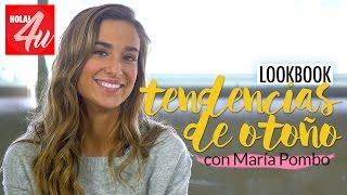 Tendencias de otoño   'Lookbook' con María Pombo