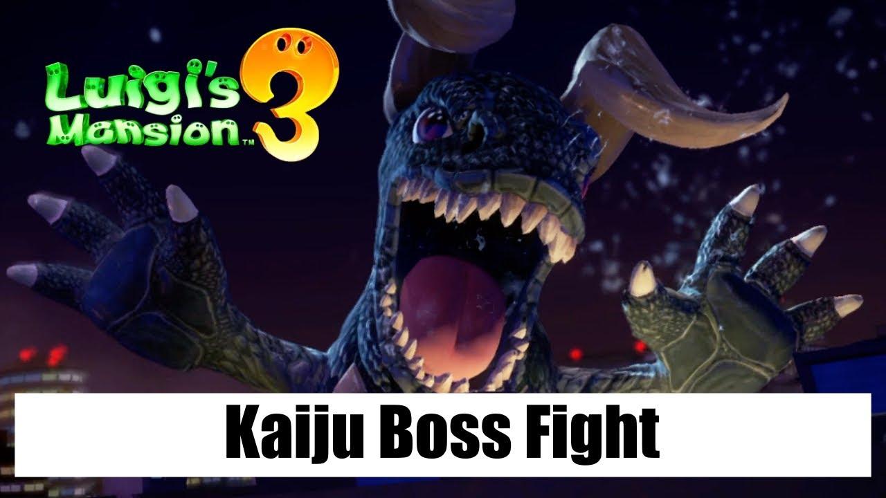 Luigi's Mansion 3 – Kaiju Boss Fight