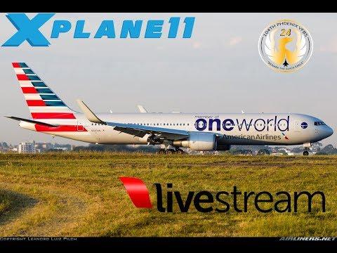 X-Plane 11 | A320 B763 | **NEW BSS SOUNDS** | VATSIM | EHAM-EINN-KBOS