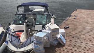 Muitininkams įkliuvo antras nelegalius rūkalus plukdęs kateris per savaitę