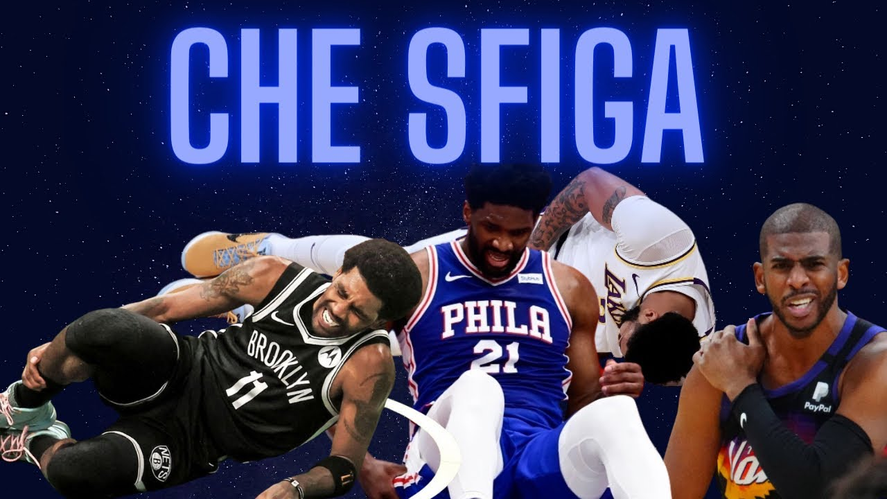 I FAVORITI ai PLAYOFFS NBA 2021 sono gli INFORTUNI! Considerazioni PLAYOFFS