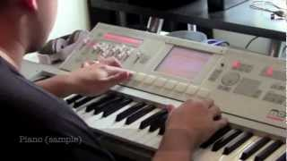 "Beat Making 2012 | Korg M3 & Logic Pro | Sampling | MonkeyBOI Beatz | ""Crazy"""