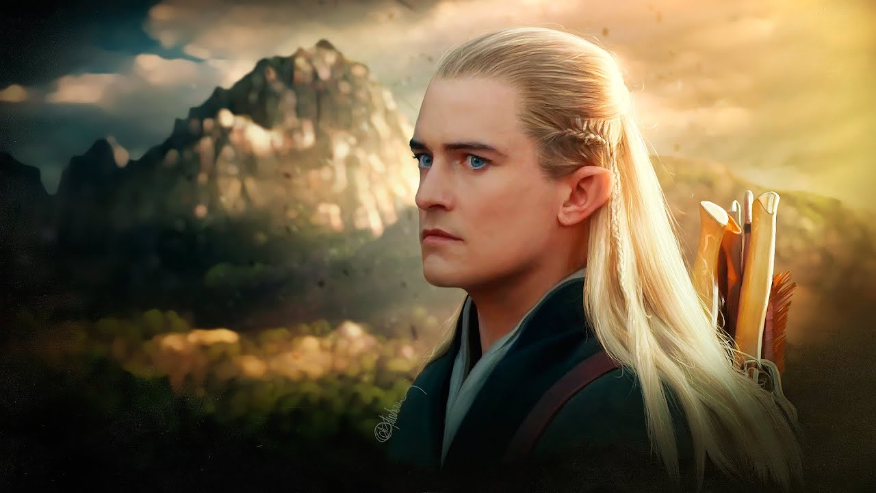 Orlando Bloom As Legolas Greenleaf Legolas - Hero ...