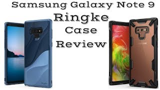 Samsung Galaxy Note 9 Ringke Wave & Fusion X Case Review