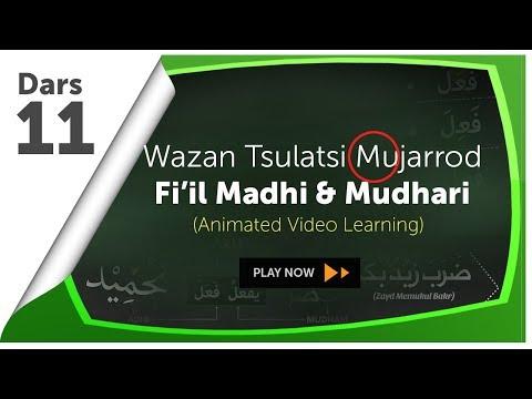 Video Animasi 11 : Wazan Tashrif (Fi'il Madhi & Mudhari)