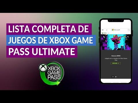Lista Completa de Juegos de Xbox Game Pass Ultimate – Biblioteca Xbox