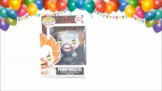 UNBOXING !!  FUNKO POP PENNYWISE  - SCOUZY