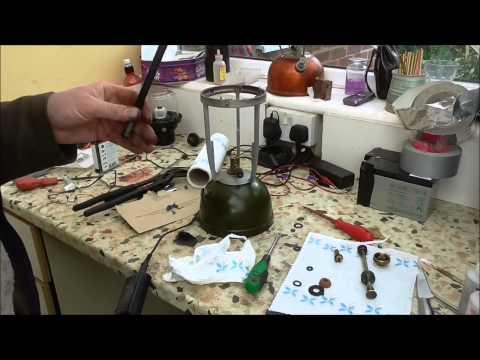 Vapalux M320 paraffin lamp  restoration
