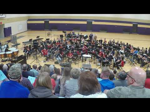 Chaska Middle School West Spring Band Concerts 2019 6th Grade Part 2