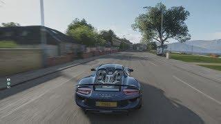 Forza Horizon 4 - Porsche 918 Spyder Gameplay [4K]