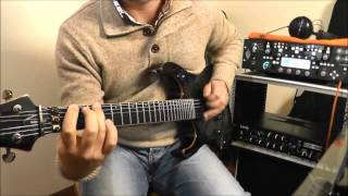 Red Baron - Billy Cobham - Guitar Improvisation - Kemper