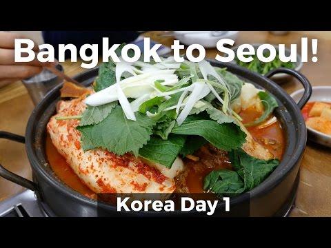 Bangkok to Seoul, South Korea (Day 1)