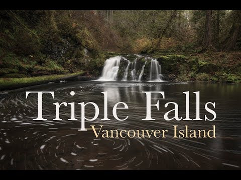 Landscape Photography | Photographing Waterfalls On Vancouver Island