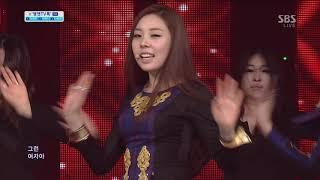 레이디스 코드 (LADIES' CODE) - 나쁜 여자 (인기가요 2013.03.24)