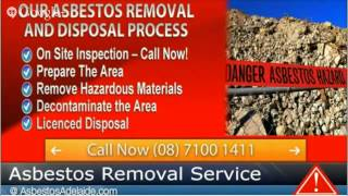 House Asbestos Removal Cost Adelaide Call AsbestosAdelaidecom now on 08) 7100-1411 House Asbestos Re