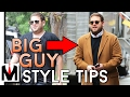 How To Dress Heavy Set Men | Big Men Style Tips To Look Thinner