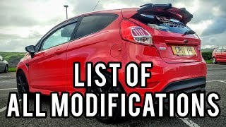Ford Fiesta ST Line Red Edition - MODIFIED | Aesthetic mods list and show off