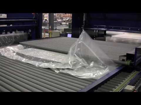 Video: Symbol Mattress compresses mattresses