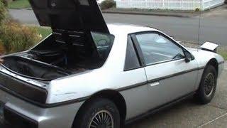 Электромобиль своими руками ч1. Electric Pontiac Fiero (english captions)(Моя самоделка. Основа - 1985 Понтиак Фиеро за $300. После переделки зарегистрировал как электромобиль в Орегоне,..., 2010-03-16T23:51:33.000Z)