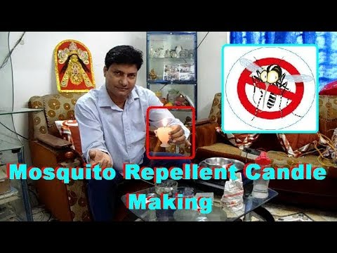 """Mosquito repellent candle making. DIY Mosquito Repellent Candles. """"MOSQUITO REPELLENT"""" - 동영상"""
