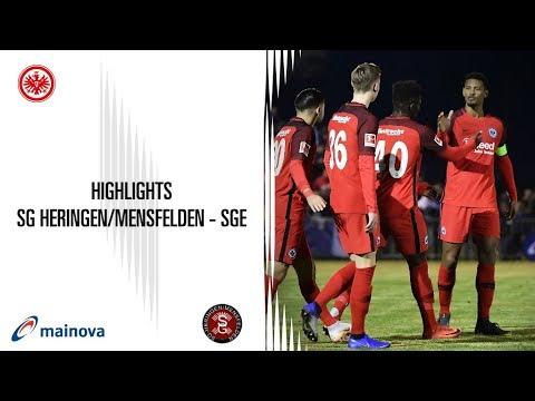 Highlights vom Testspiel SG Heringen/Mensfelden - Eintracht Frankfurt
