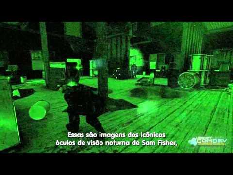 Tom Clancy S Splinter Cell Blacklist Oculos De Visao Noturna