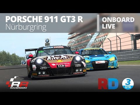 RaceRoom - RD Club - Porsche 911 GT3 R @ Nürburgring ONBOARD