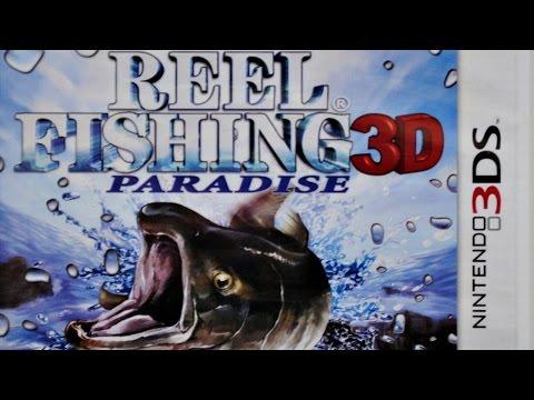 Reel Fishing Paradise 3D Gameplay (Nintendo 3DS) [60 FPS] [1080p]