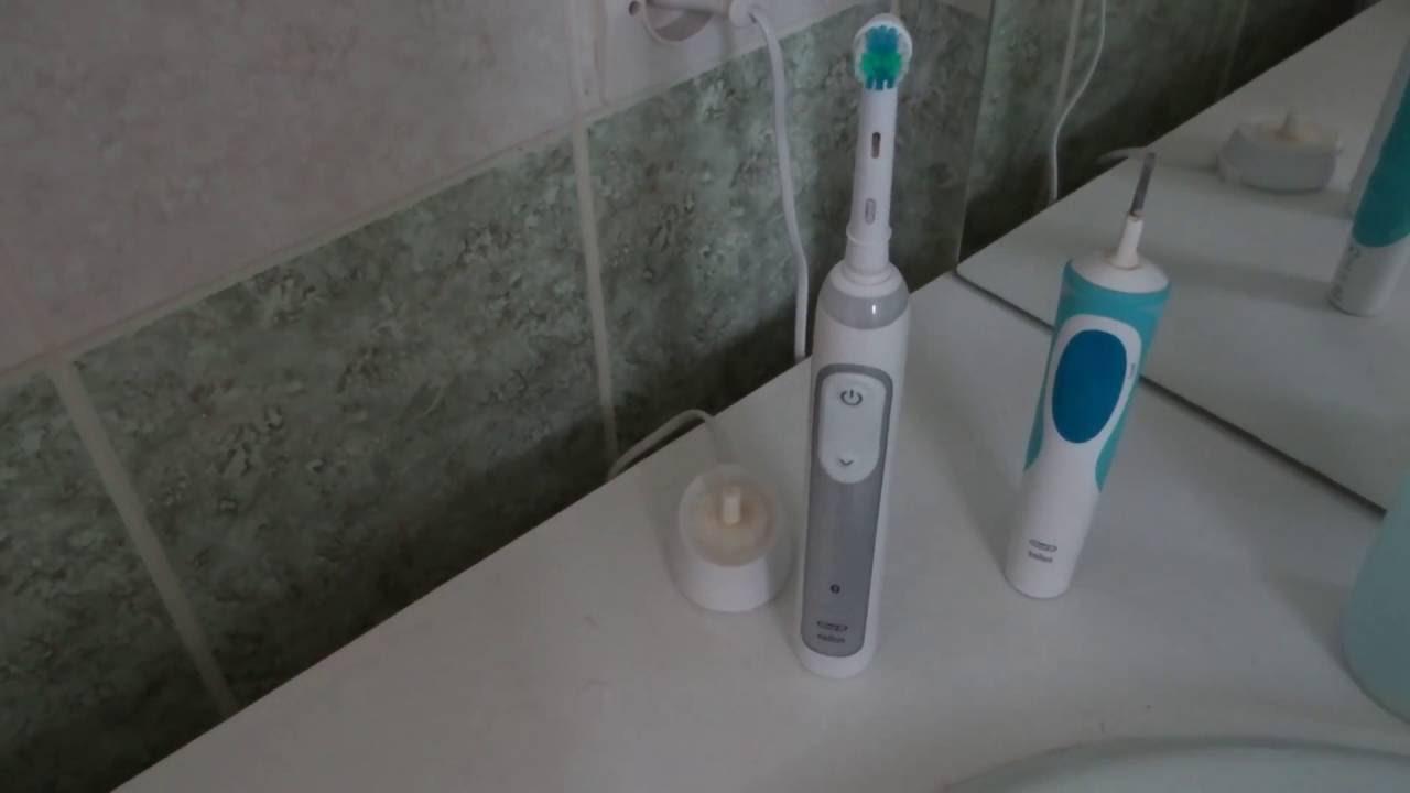 Brosse A Dents Electrique Oral B Genius 8000 Par Braun Youtube