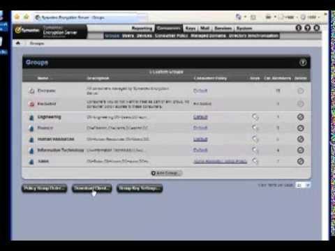 Symantec Encryption Desktop Interactive Install