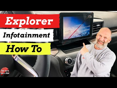 "2020 Explorer Infotainment System ""How To"""