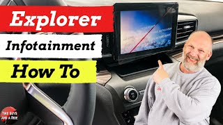 Infotainment How To - 2020 Ford Explorer