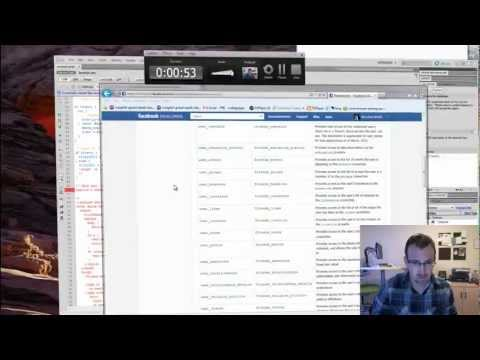 Facebook PHP SDK Tutorial (Facebook Login & Open API)