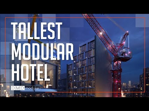 DMDmodular | The World's Tallest Modular Hotel