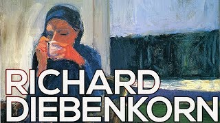 Richard Diebenkorn: A collection of 90 paintings (HD)