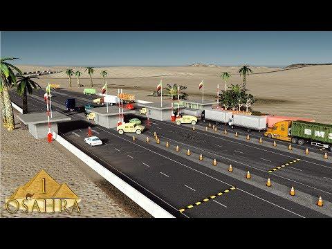 Cities Skylines Osahra: The Cross-border Checkpoint #1