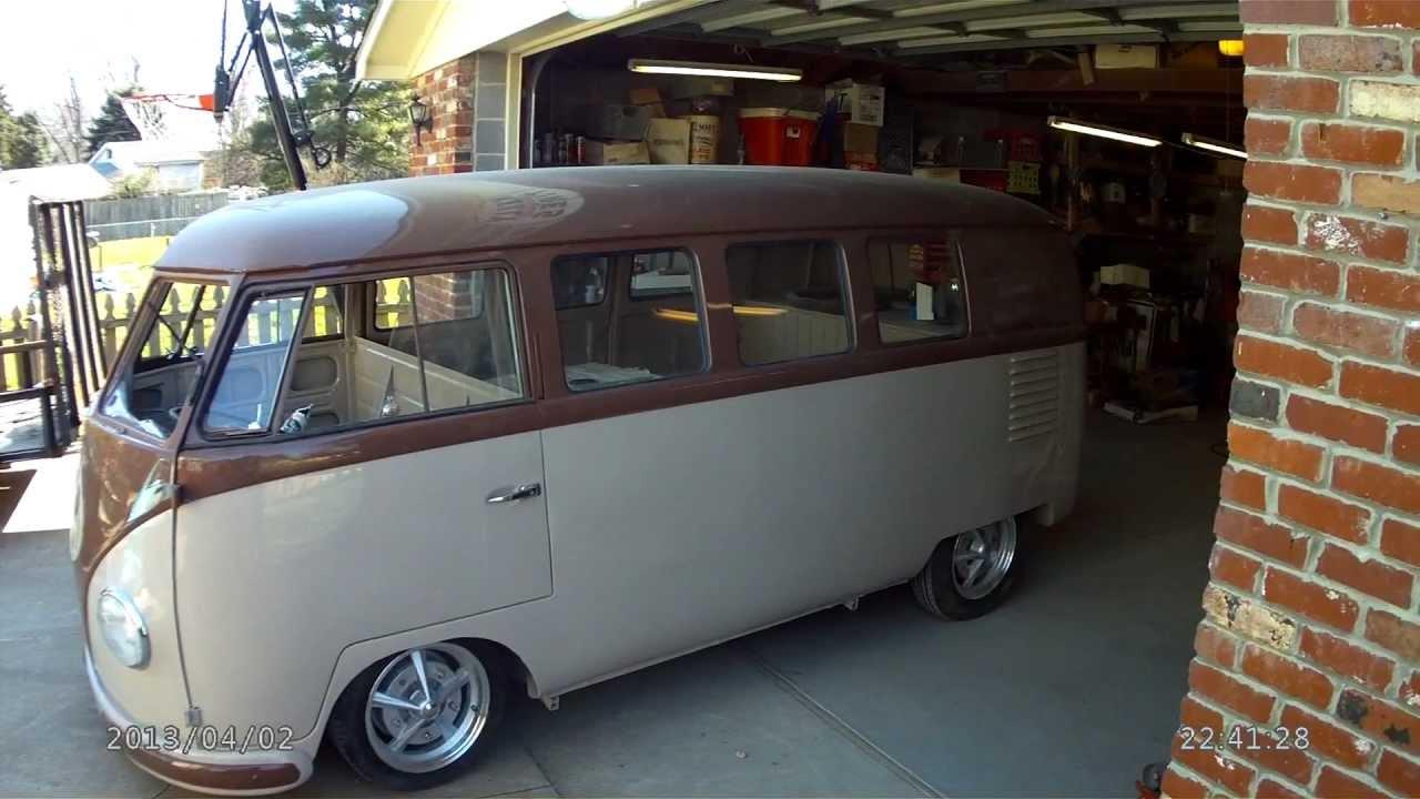 Vw Barndoor Split Window Bus - YouTube