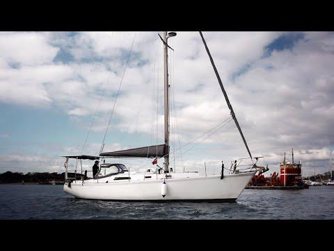 INITIAL TEST of our Oceanvolt Electric Motor — Sailing Uma [Step 215]