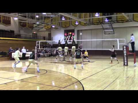 Saint Patrick High School vs Loyola Academy 2016 Varsity Volleyball