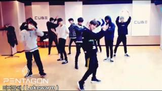 Download Video PENTAGON -  미지근해 (Lukewarm) Dance practice MP3 3GP MP4