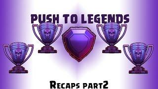 [Clash Of Clans] Push to legends league ,Attacks Recap-2.