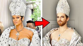 The Try Guys Recreate Met Gala Fashion