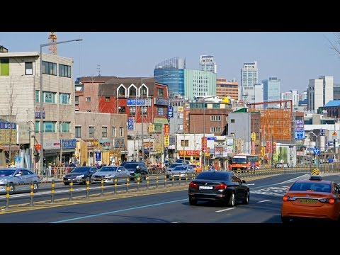 Walking in Seoul (South Korea)